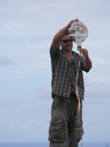 Pitcairn Island, Big Flower - Kite Flying