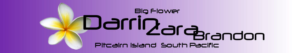 Pitcairn Island, Big Flower - Darrin Zara Brandon- Heating Water